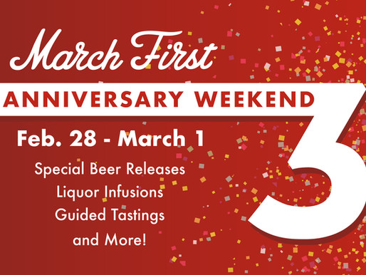 Everything you need to know about March First 3rd Anniversary Weekend