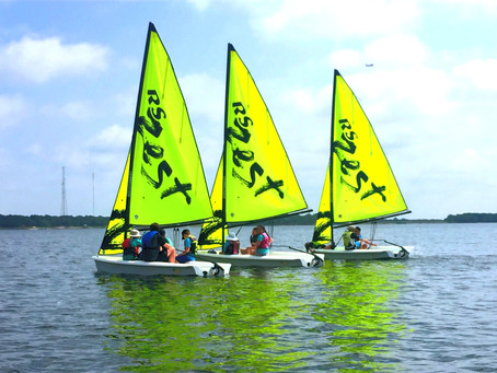 New Zest Sailboats for Camp!