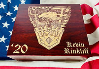 West Point Parents' Club of North Texas Graduation Cigar Box