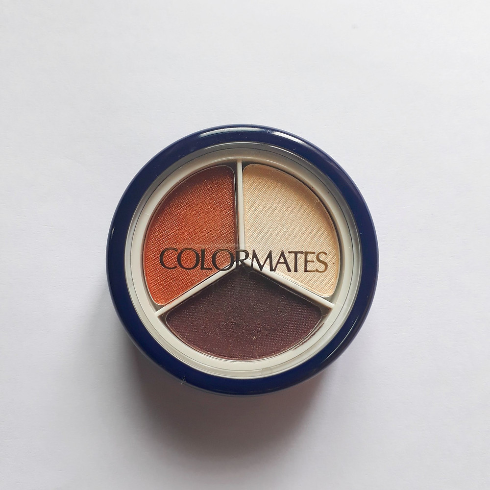 Colormates  eyeshadow and eyeliner - shades of suede.