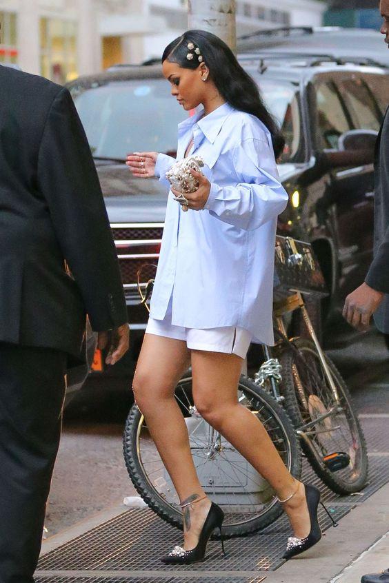 Rihanna high-heels