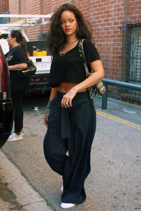 Rihanna baggy pants