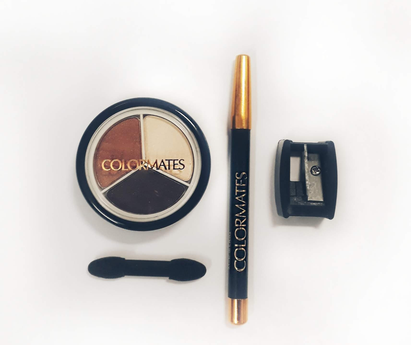Colormates  eyeshadow and eyeliner -