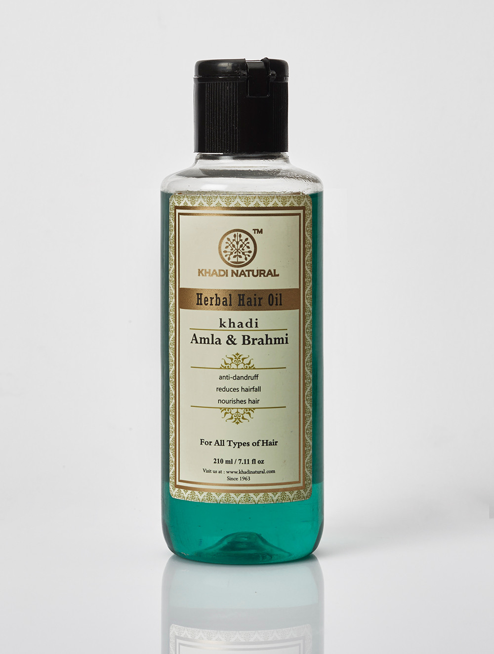 khadi natural amla and brahmi oil