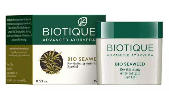 Biotique Bio Seaweed Revitalizing Anti Fatigue Eye Gel