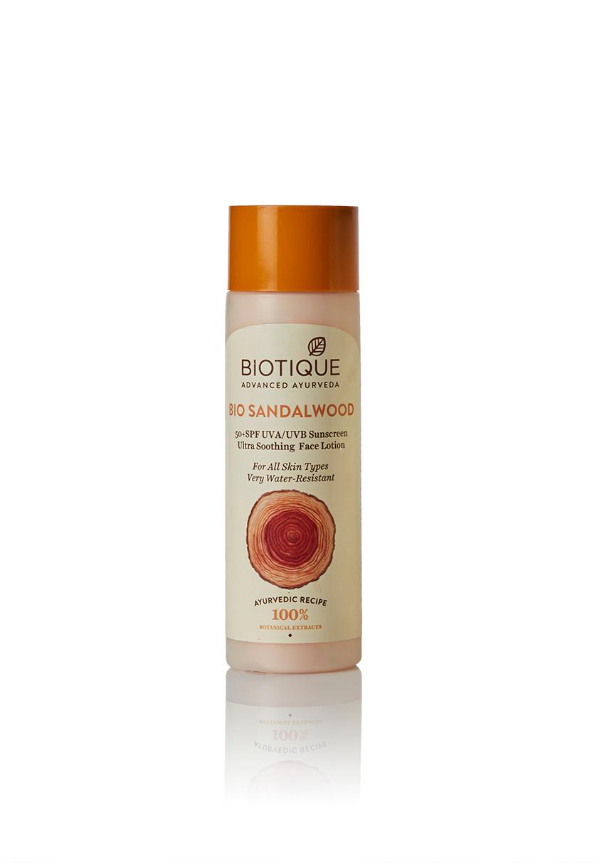 Biotique Bio Sandalwood 50+ SPF Sunscreen