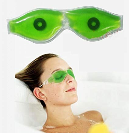H-Store Aloe Vera Eye Mask for Removing Dark Circles and Wrinkles (Green, hseyecool)
