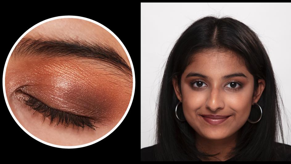 90s Brown Eye Makeup Look