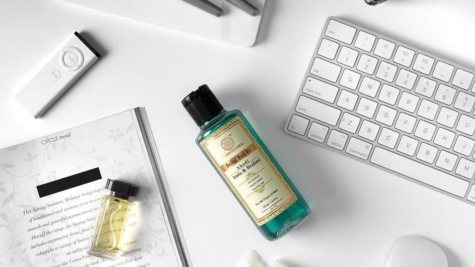 Khadi Natural Amla and Brahmi Hair Oil Review