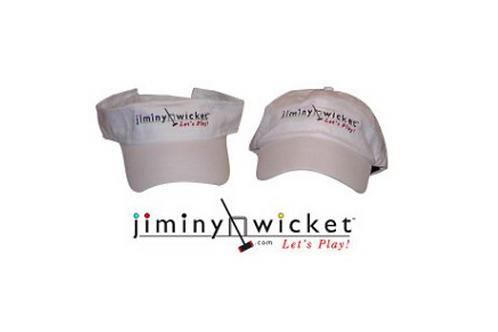 Visor or Cap with Jiminy Wicket Logo