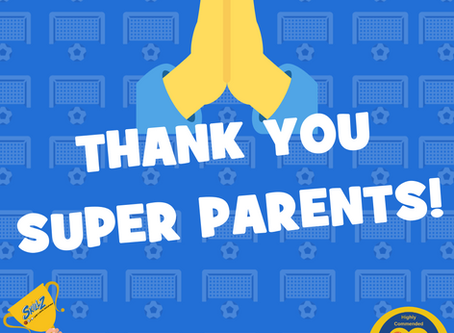 THANK YOU! YOUR CREDIT OPTIONS FOR YOUR APRIL PAYMENT 😊⚽️
