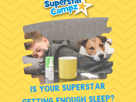 TIPS TO HELP YOUR SUPERSTAR GET ENOUGH SLEEP 😴