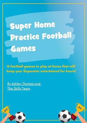 Super Home Practice Football Games E-Book