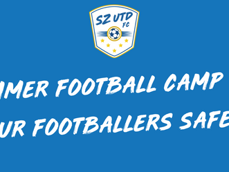 OUR SUMMER FOOTBALL CAMP AND OUR FOOTBALLERS SAFETY 🤧✅⚽️