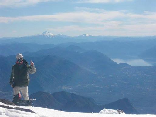 Atop Volcan Villarica, Pucon, Chile, 2010