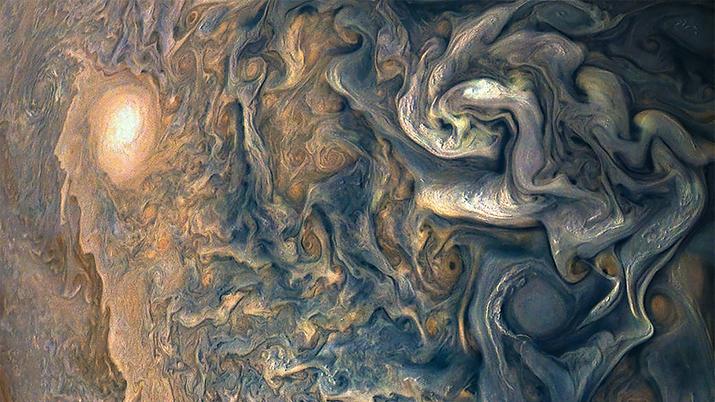NASA Jupiter Close Up