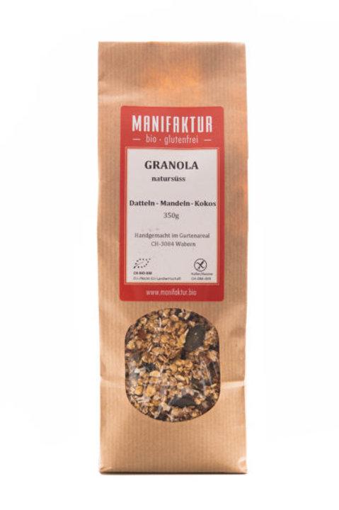 Müsli Granola Datteln-Mandeln