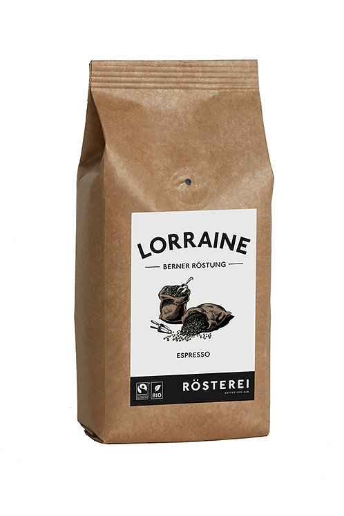 Bio Bohnenkaffee Lorraine Espresso