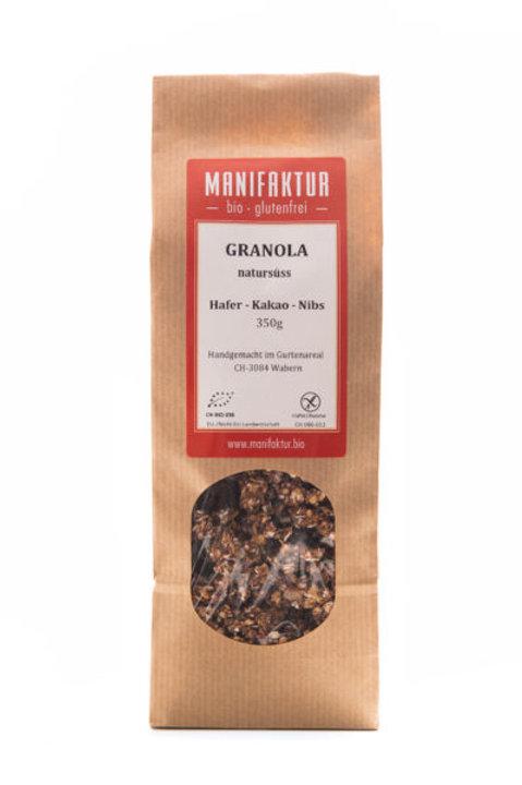 Müsli Granola Hafer-Kakao-Nib