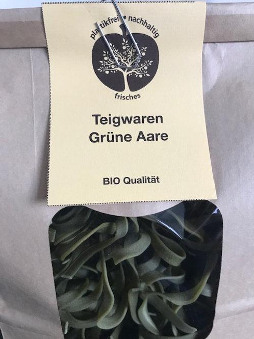 Teigwaren grüne Aare ohne Plastikverpackung  XL