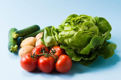 Nachhaltiges BIO Vegan Abo mit Gemüse Früchte