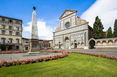One of the famous churches in Florence o