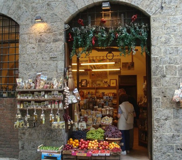 Tipical Florence shop
