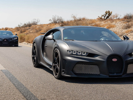 Engineers at Bugatti complete the next development phase of its Centodieci with hot Weather Testing