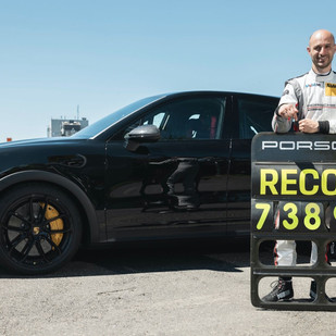 Cayenne de altas prestaciones hace récord de vuelta al Nürburgring Nordschleife