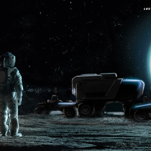 Lockheed Martin & GM Developing Next-Generation Lunar Rover for NASA Astronauts to Explore the Moon