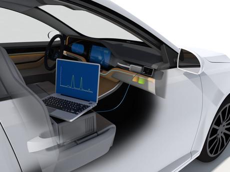 Air-Wellness im Auto: IAV entwickelt neues Messsystem zur Beduftung von Fahrzeuginnenräumen