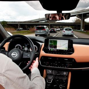 Engineering intern sat in the worst U.S. traffic jams to enhance Nissan's ProPILOT Assist system.
