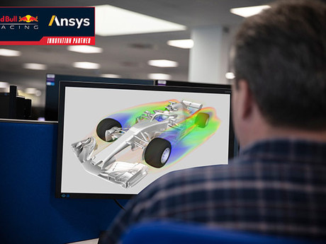 Red Bull Racing and Ansys, Fast-track race-winning design