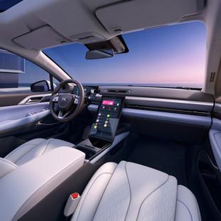 XPeng's third production model boasts robust autonomous driving architecture.