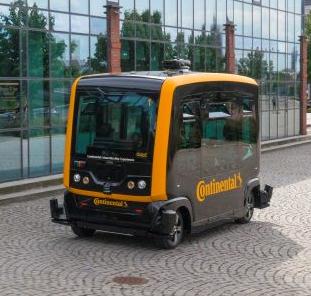 Continental setzt fahrerloses Shuttle auf der Bayerischen Landesgartenschau in Lindau ein