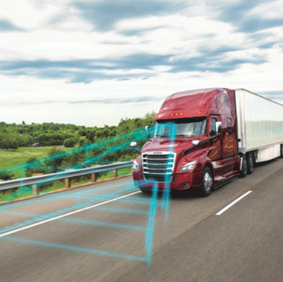 Industry-First Safety Features from Detroit Assurance Contribute to Safer Roads, Driver Comfort