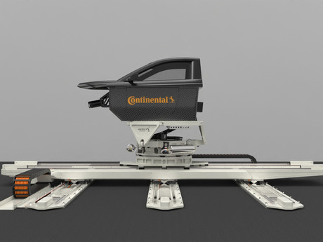 Continental testet Reifen künftig in dynamischem Fahrsimulator
