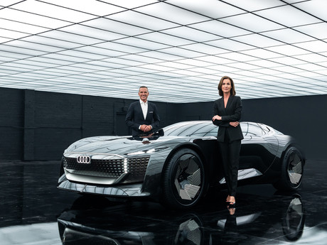Audi shares its future vision as it unveils, The Skysphere concept.