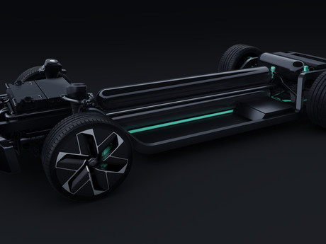 Hydrogen Platform concept unveiled by new French automaker, Hopium.
