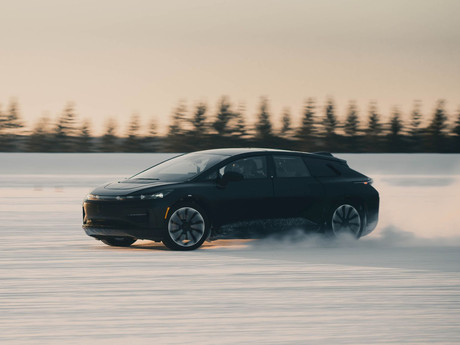 Faraday Future FF 91 Completes Winter Testing Activities in Michigan and Minnesota