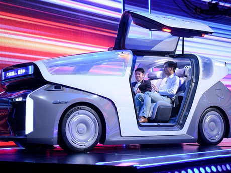 Baidu CEO unveils vision for mobility - L5 Robocar that moves, communicates and Learns.