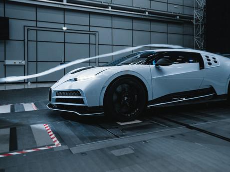 Bugatti Centodieci – Erfolgreiche Tests im Windkanal