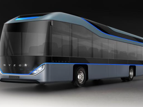 Testing showcased capabilities of Hyzon zero-emission, hydrogen fuel cell coach