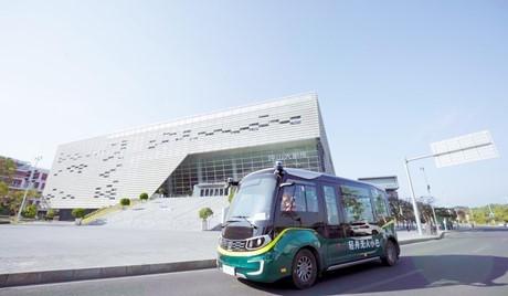 Recent Launch of Robobus Fleet in China Using Ouster Lidar Sensors
