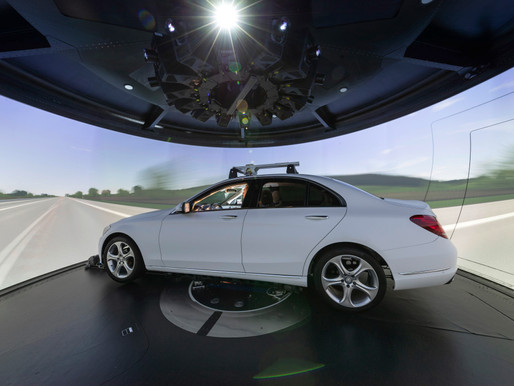 Mercedes Benz simulator at 10 years old, will include new autonomous vehicle research capability's