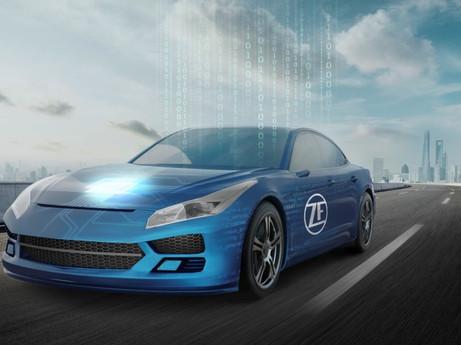 """""""智行合一,驾驭未来""""—— 采埃孚在2021上海车展上以全球首发产品,赋能软件定义汽车"""