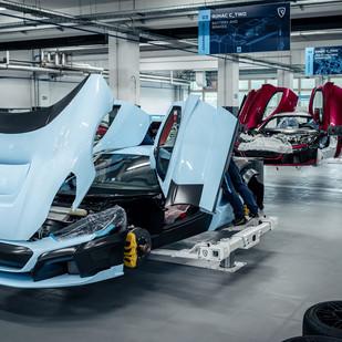 La participación de Porsche en Rimac Automobili aumenta a 24 por ciento