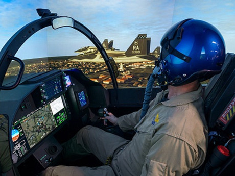 """Production of Boeing T-7A Weapons Systems Trainers - 8K Simulators are as """"real-as-it-gets"""""""