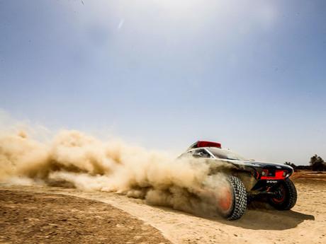 Audi RS Q e-tron im Test in Marokko