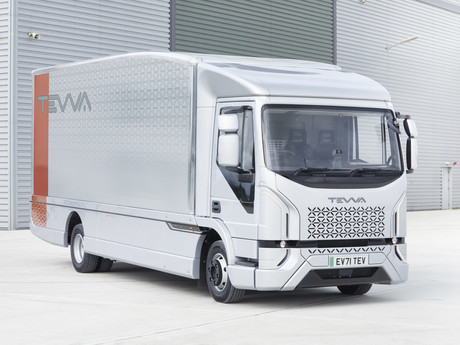 7.5 Tonne, All Electric Tevva Truck unveiled
